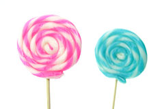 Closeup of Lollipops Royalty Free Stock Images