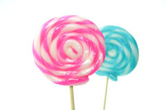 Closeup of Lollipops Royalty Free Stock Photo