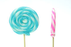 Closeup of Lollipops Royalty Free Stock Photos