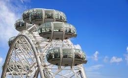 Closeup of London Eye Royalty Free Stock Image