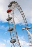 Closeup of the London Eye Royalty Free Stock Photos
