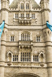 Closeup of London Tower Bridge on the River Thames Royalty Free Stock Image
