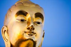 Closeup Lord of Buddha Phra buddha Kitti Sirichai Royalty Free Stock Photography