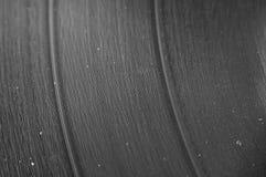 Closeup of LP Vinyl Record Stock Photo