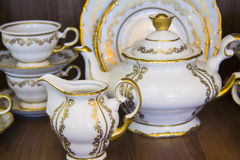 Closeup of luxury tableware Stock Images