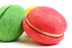 Closeup of a macaroon Stock Image