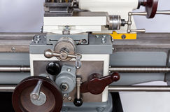 Closeup machining tool Royalty Free Stock Photo