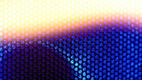 Closeup macro grid. Abstract closeup macro grid blue and orange Stock Photos