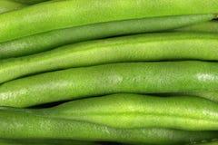 Closeup Macro Image of Green String Beans royalty free stock images