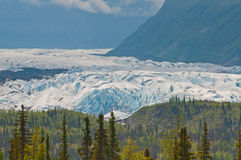 Closeup of majestic glacier Royalty Free Stock Photos