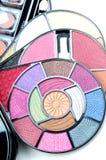 Closeup of makeup kit Royalty Free Stock Image