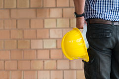 Closeup Of Male Architect Stock Photography