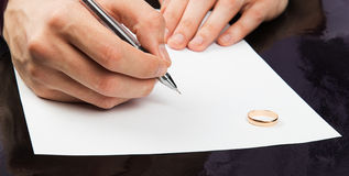 Closeup of male hand Royalty Free Stock Image