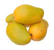 Closeup of mango Stock Photos
