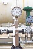 Closeup of manometer Stock Image