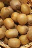 Closeup of many kiwi fruits Royalty Free Stock Photos