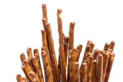Closeup of many salt sticks Stock Image