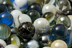 Closeup Marbles Background Royalty Free Stock Photos