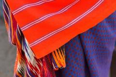 Closeup of Masai tribe Royalty Free Stock Photos