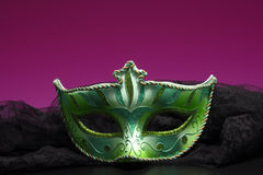 Closeup of mask. Royalty Free Stock Photography