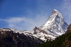 Closeup of Matterhorn Stock Image