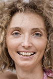 Closeup Of A Mature Blond Woman Royalty Free Stock Photography