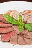 Closeup meat cuts Royalty Free Stock Image
