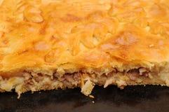 Closeup Meat Pie Royalty Free Stock Photo