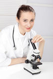 Closeup Of Medical Doctor Stock Image