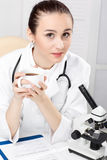 Closeup Of Medical Doctor Royalty Free Stock Photo