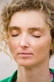 Closeup Meditation Stock Photography