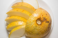 Closeup of melon Royalty Free Stock Photo