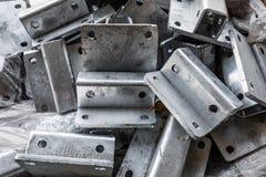 Closeup of metal parts Stock Images