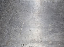 Closeup of metal surface. Background created by closeup of shiny metal surface revealing scratch marks from polishing the material stock photos