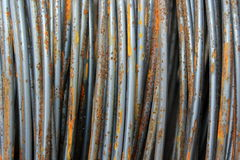 Closeup of metal wires Royalty Free Stock Image