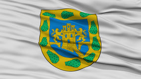Closeup Mexico - stadsflagga, Mexico stock illustrationer