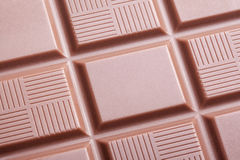 Closeup of milk chocolate bar Royalty Free Stock Photo