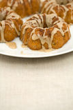 Closeup of Mini Bundt Cakes Stock Image