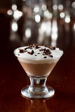 Mini chocolate martini Royalty Free Stock Photography
