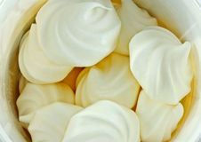 Meringue cakes Royalty Free Stock Photo