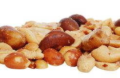 Free Closeup Mixed Nuts Royalty Free Stock Image - 9465256