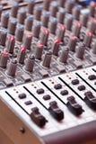 Closeup of a mixer Stock Photography