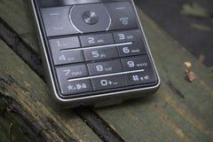 Closeup of mobile phone keypad.  Stock Photography