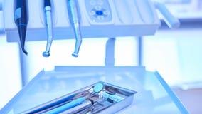 Closeup of a modern dentist tools Stock Photos