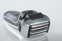 Closeup of Modern Electric Washable Shaver Royalty Free Stock Images