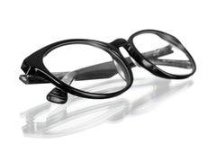 Closeup of modern glasses Royalty Free Stock Image