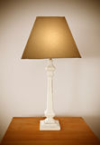 Modern table lamp Stock Image