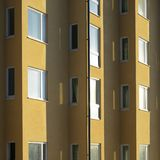 Closeup of modern architecture Royalty Free Stock Photos