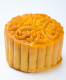 Closeup moon cakes in a Chinese mid-autumn Stock Photos