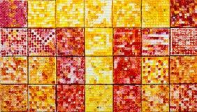 Closeup of  mosaic tiles Stock Images